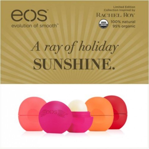 EOS Rachel Roy Holiday Lip Balm Costco 1