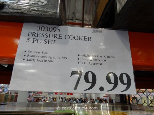 Fagor Rapida Pressure Cooker Set Costco 5