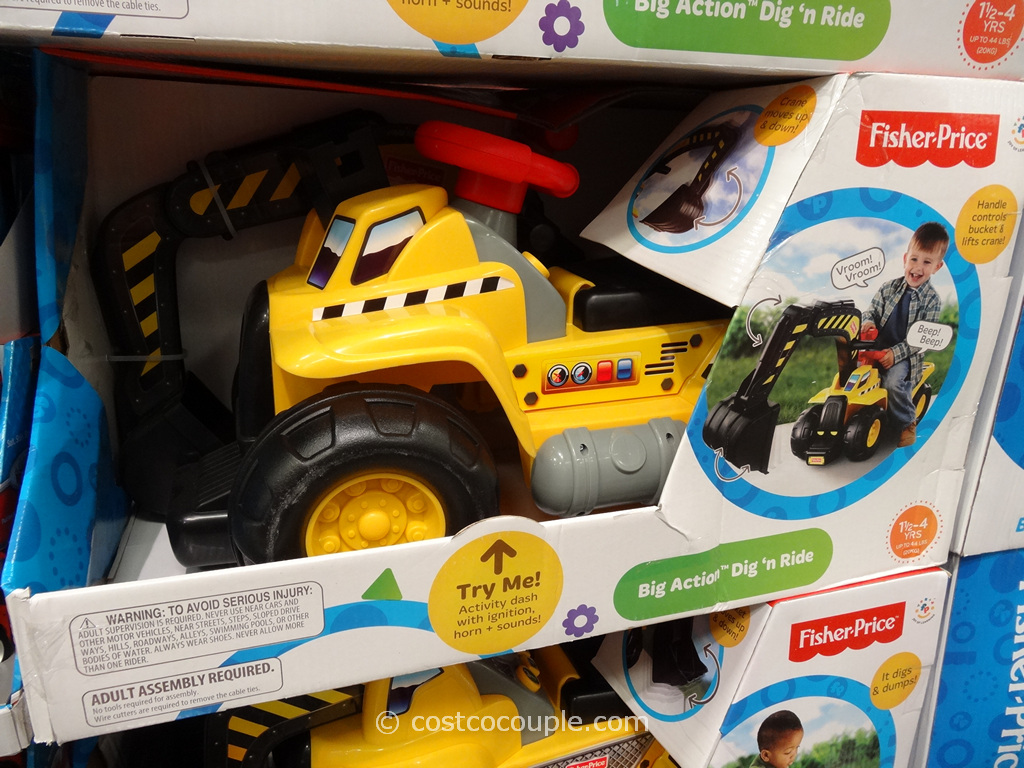 Fisher Price Big Action Dig n Ride Costco 1