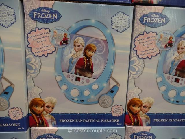 frozen karaoke machine costco