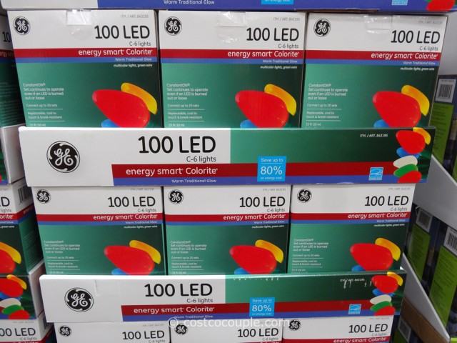 GE Energy Smart Calorite C6 Lights Costco 2