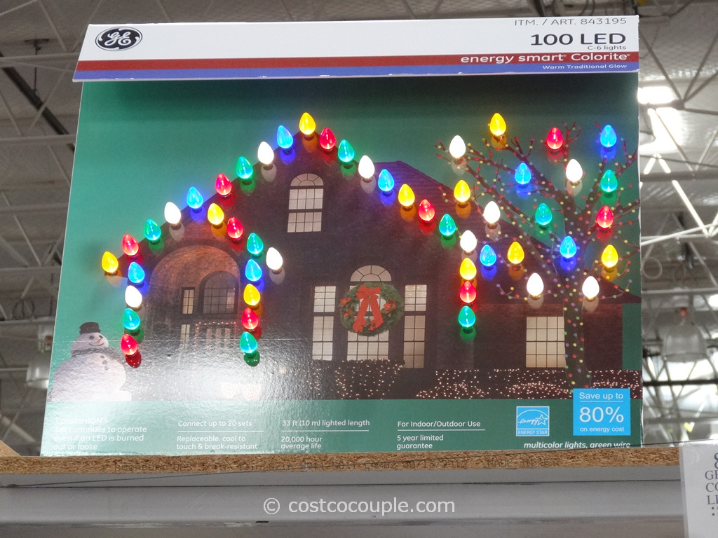 GE Energy Smart Calorite C6 Lights Costco 3