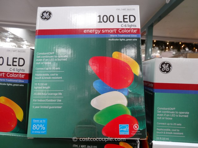 GE Energy Smart Calorite C6 Lights Costco 4
