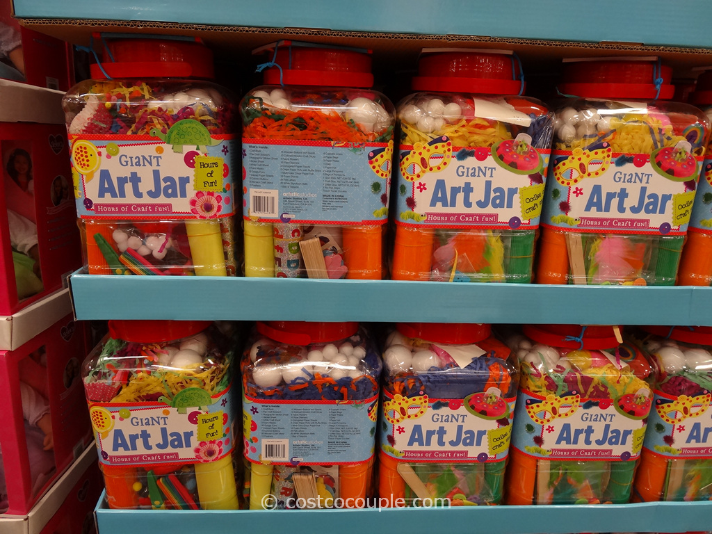 Giant Art Jar Costco 5