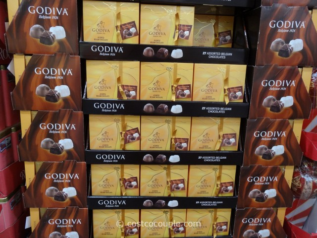 Godiva Assorted Belgian Chocolates