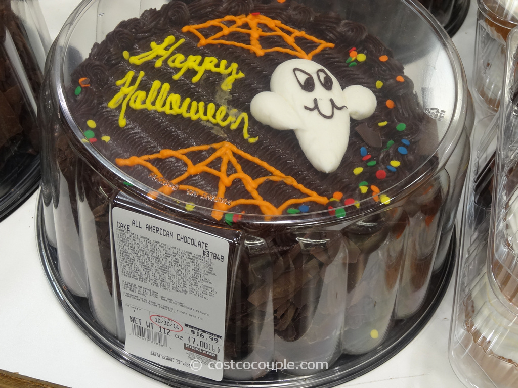 Halloween All Chocolate Cake Costco 1