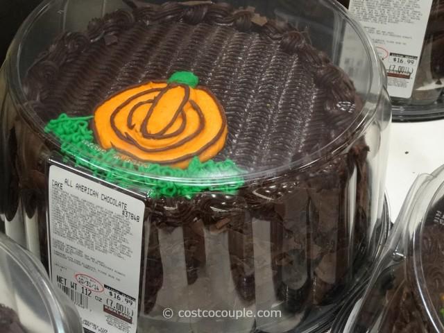 Halloween All Chocolate Cake Costco 2
