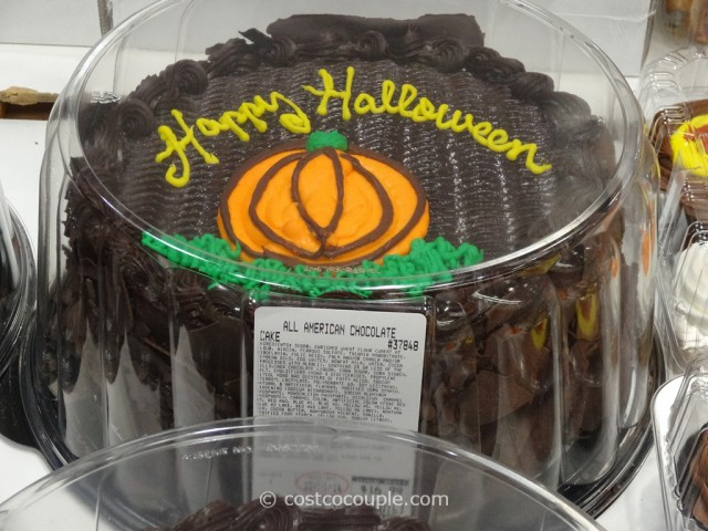 Halloween All Chocolate Cake Costco 3
