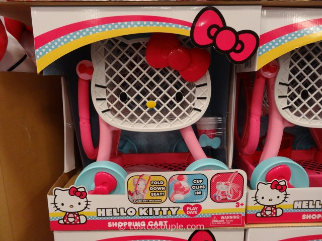 Hello Kitty Shopping Cart Costco 2