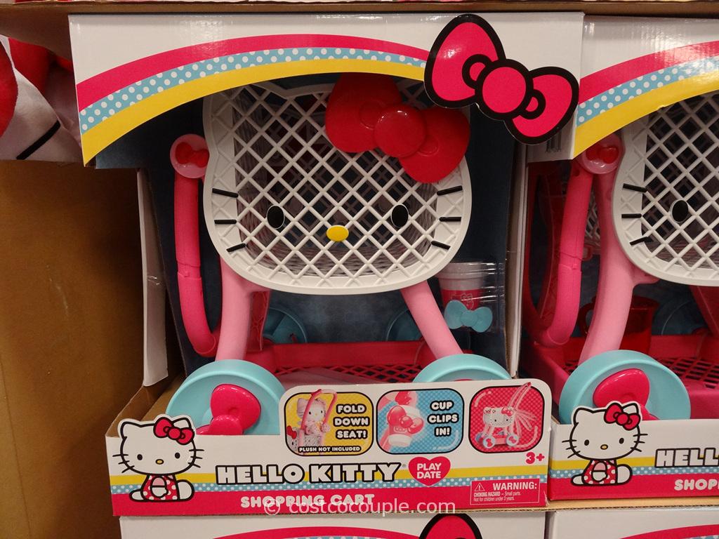 Hello Kitty Shopping Cart Costco 2