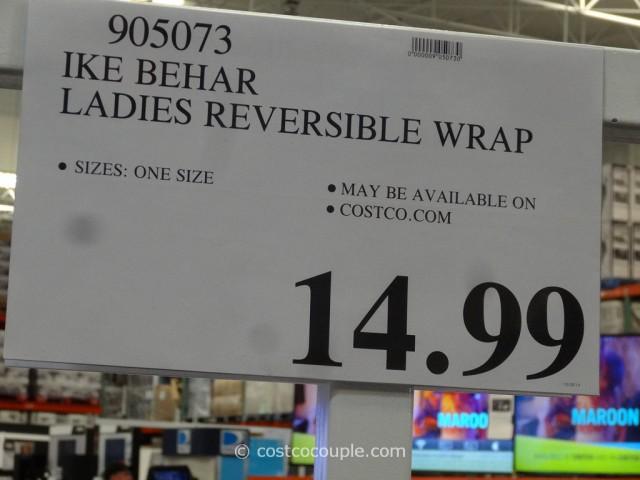 Ike Behar Ladies Reversible Wrap Costco 1