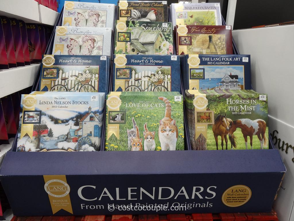 Lang Special Edition Wall Calendars Costco 1