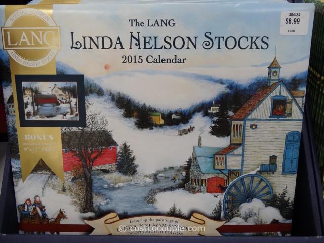 Lang Special Edition Wall Calendars Costco 3