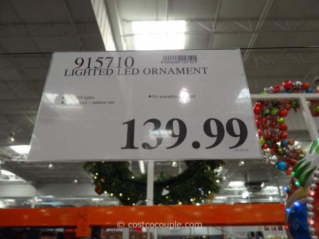 Lighted LED Ornament Costco 1