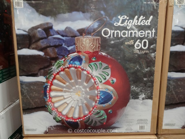 Lighted LED Ornament Costco 2