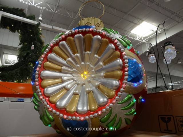 Lighted LED Ornament Costco 3