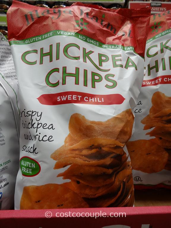 Maya Kaimal Sweet Chili Chickpea Chips Costco 3