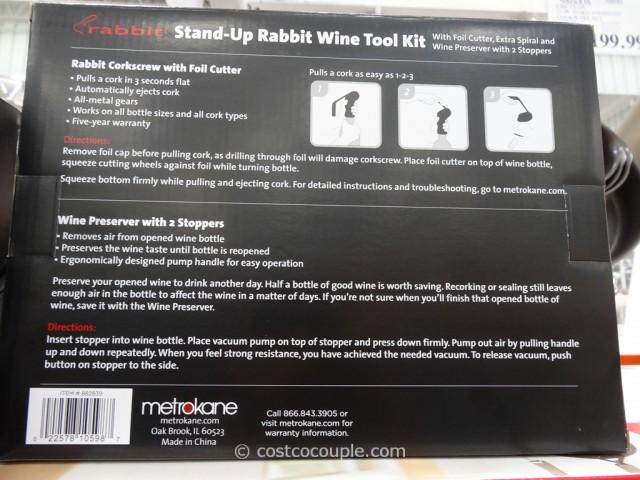 Metrokane Rabbit Wine Tool Kit