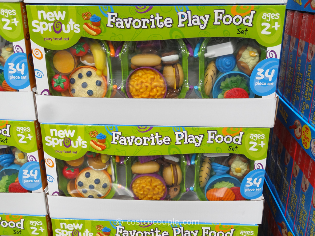 New Sprouts Play Food Set Costco 4