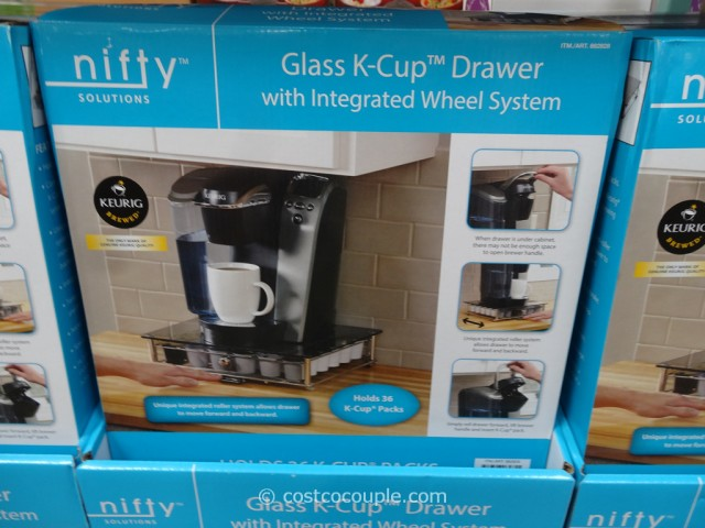 Nifty Glass K-Cup Drawer Costco 2