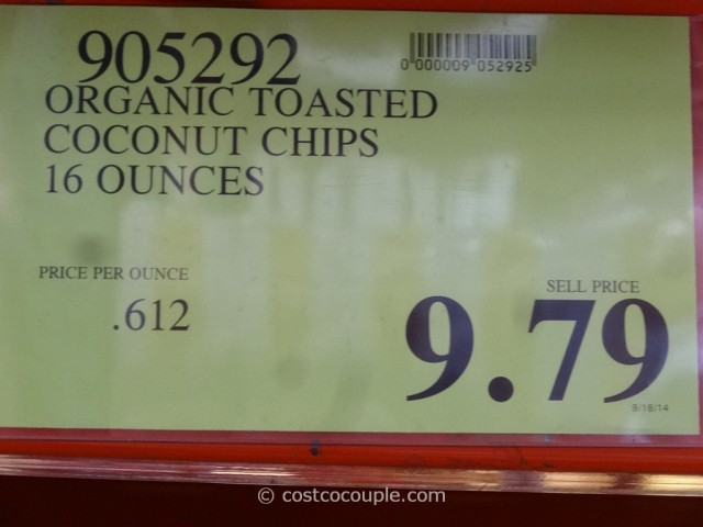 Organic Toasted Coconut Chips Costco 1