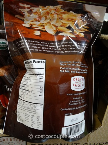 Organic Toasted Coconut Chips Costco 2