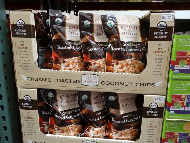 Organic Toasted Coconut Chips Costco 3