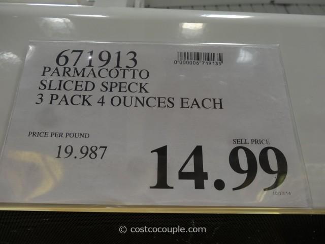 Parmacotto Sliced Speck Costco 1