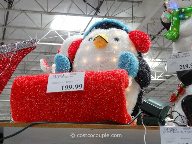 Penguins On A Sleigh Costco 3