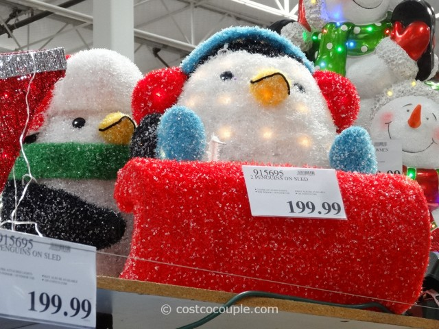 Penguins On A Sleigh Costco 4