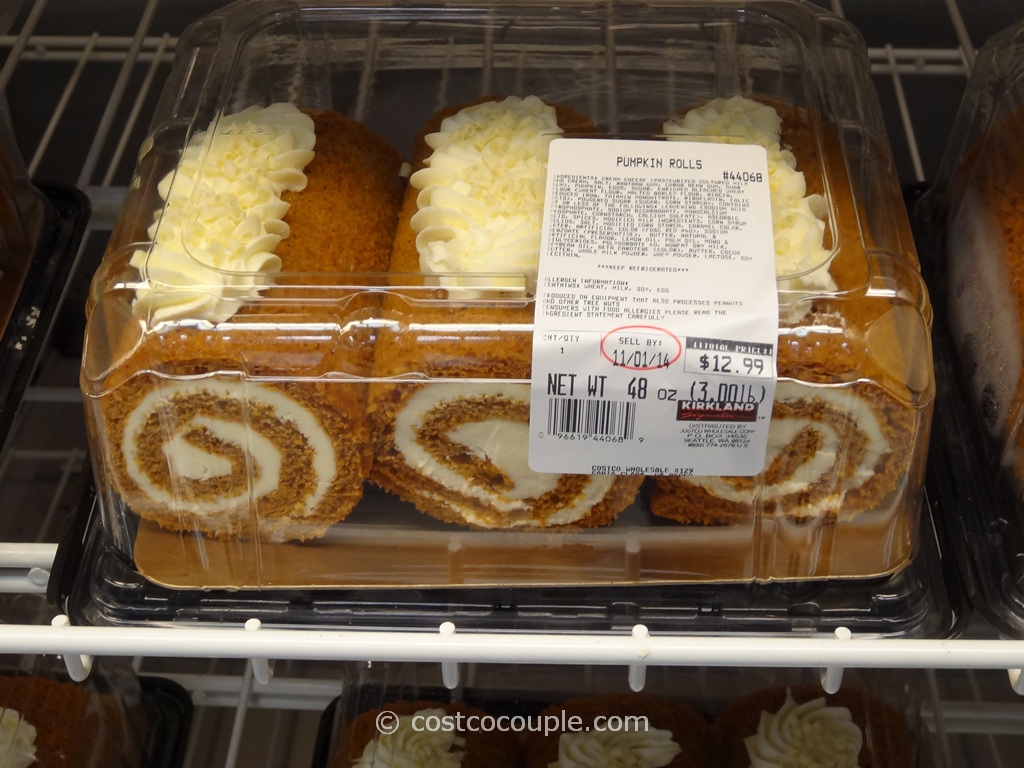 Pumpkin Rolls Costco 1