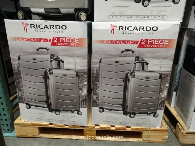 Ricardo 2-Piece Hardside Spinner Set Costco 3