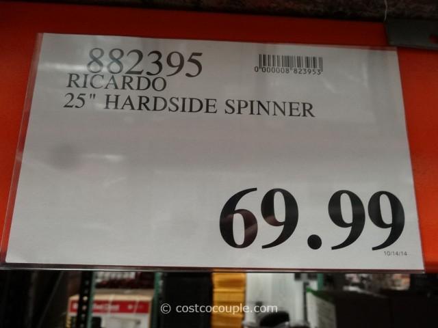 Ricardo 25-Inch Hardside Spinner Costco 1