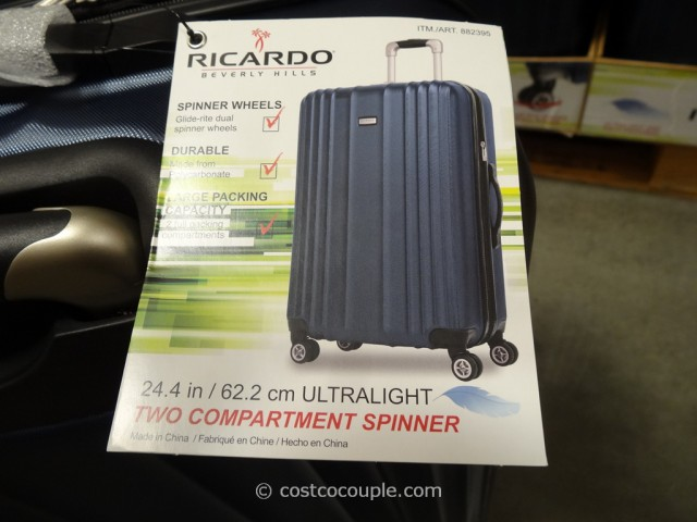 Ricardo 25-Inch Hardside Spinner Costco 5