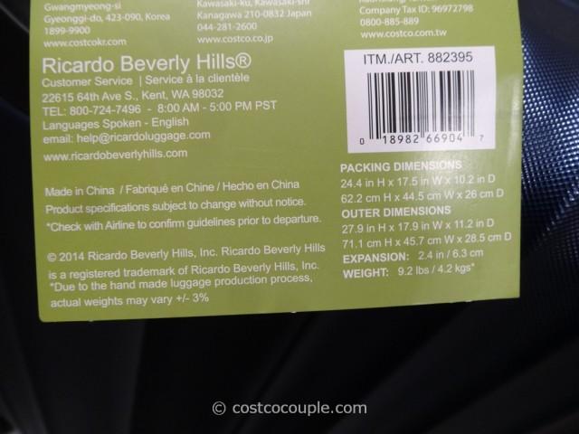 Ricardo 25-Inch Hardside Spinner Costco 6
