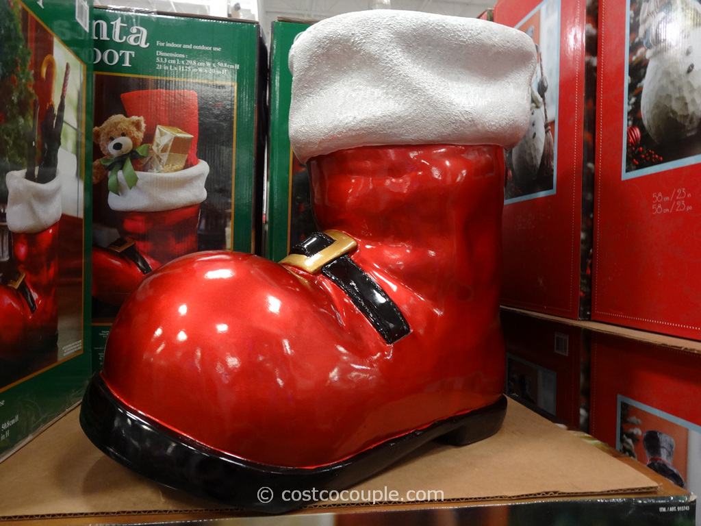 Santa Boot Costco 2
