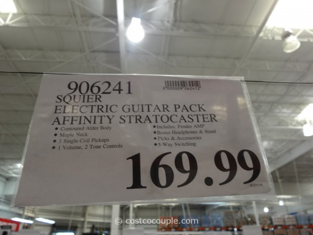 Squier Electric Guitar Pack Costco 1
