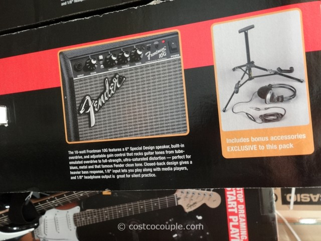 Squier Electric Guitar Pack Costco 4