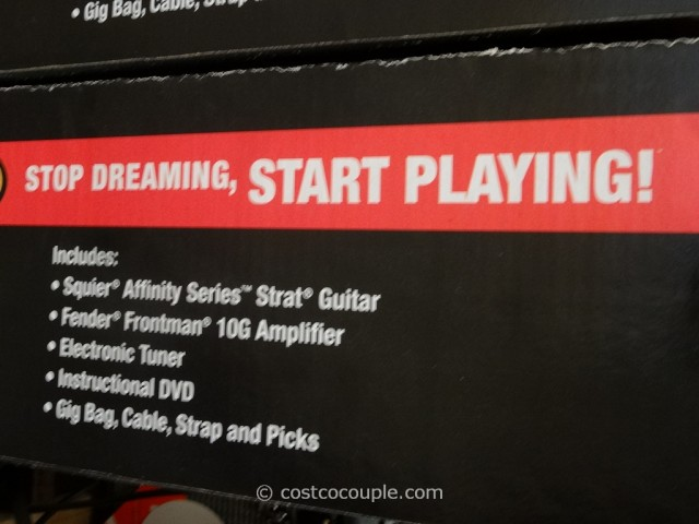 Squier Electric Guitar Pack Costco 5