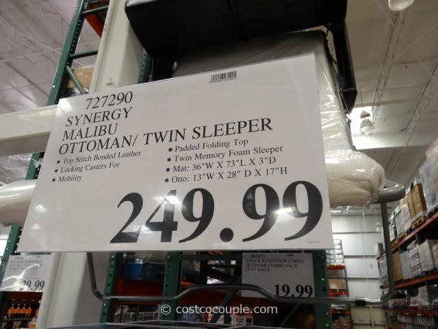 Synergy Malibu Sleeper Ottoman Costco 1