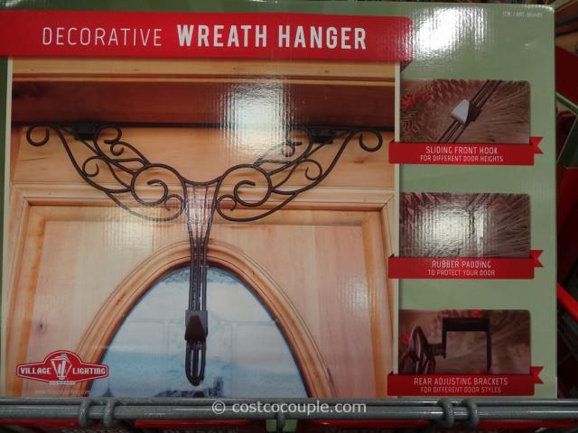 Village Lighting Decorative Wreath Hanger Costco 2