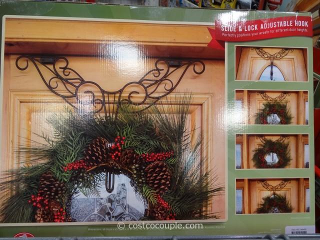 Village Lighting Decorative Wreath Hanger Costco 4