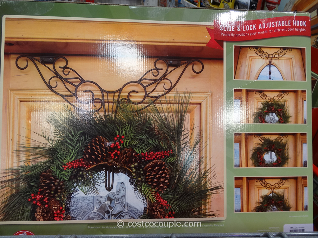 Village Lighting Decorative Wreath Hanger Costco 4