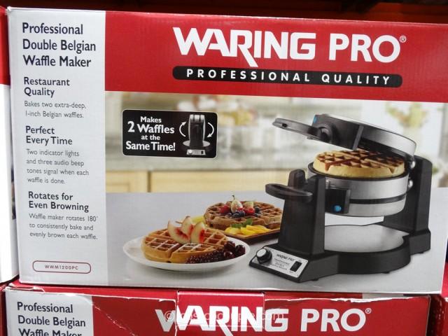 WaringPro Double Waffle Maker Costco 2