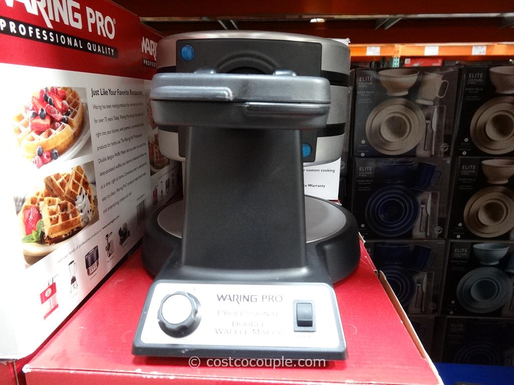 WaringPro Double Waffle Maker Costco 4