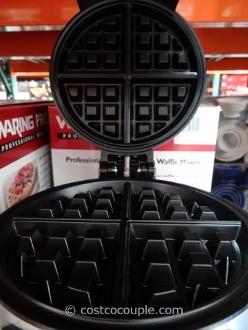 WaringPro Double Waffle Maker Costco 5