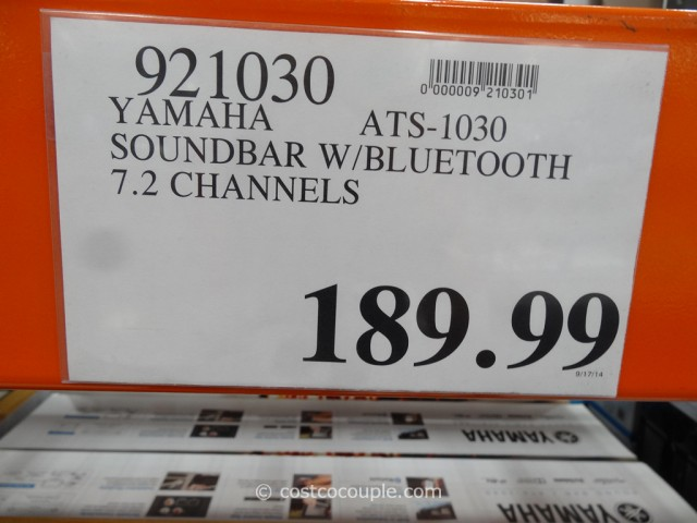 Yamaha ATS-1030 Soundbar Costco 1