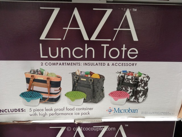 Zaza Lunch Cooler Tote Costco 3