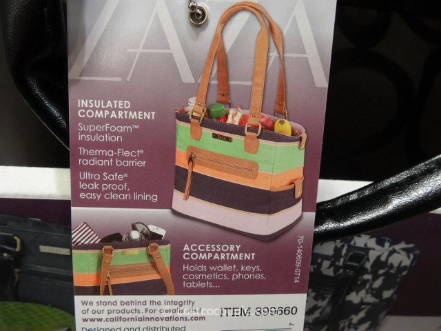 Zaza Lunch Cooler Tote Costco 6