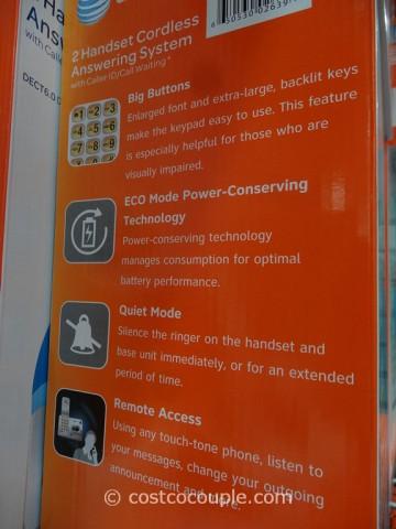 AT&T Cordless Phone Set EL52253 Costco 2